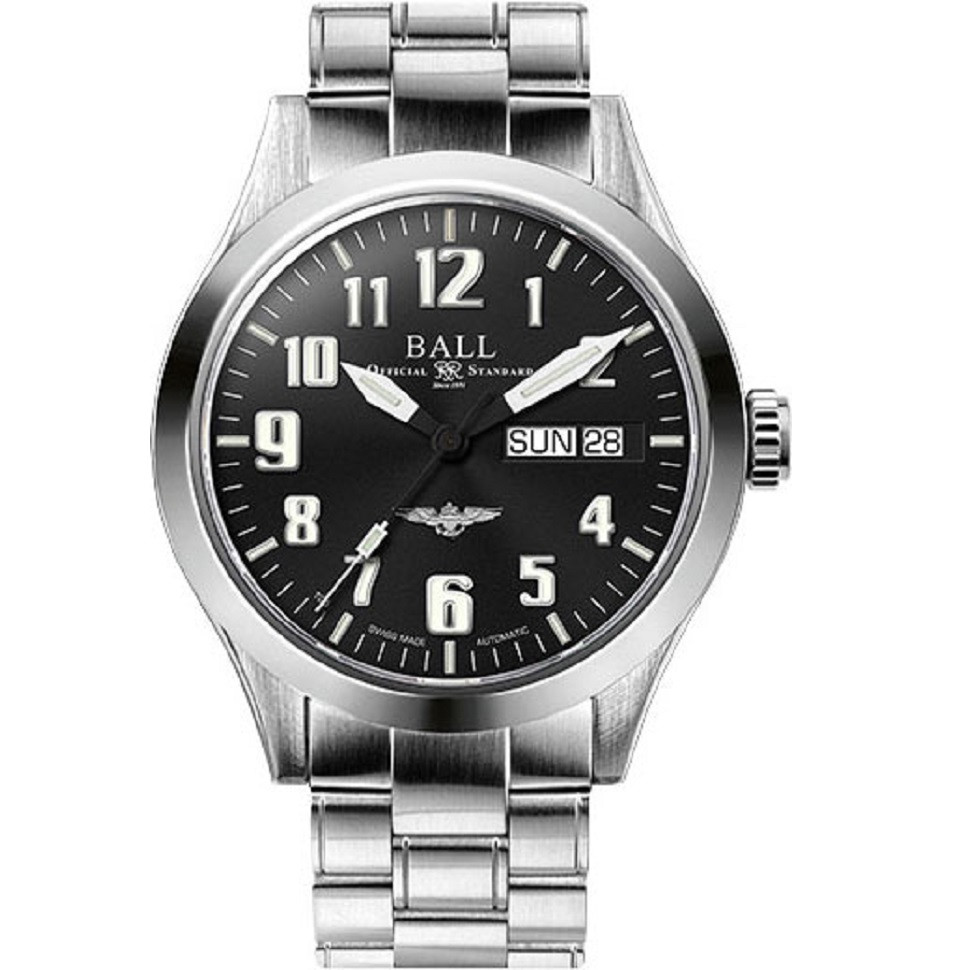 Наручные часы Ball Silver Star NM2182C-C2J-BK