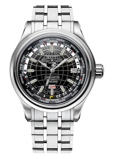 Наручные часы Ball World Time GM2020D-SCJ-BK